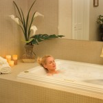 hydrotherapy bathtub - spa at Golden Ocala