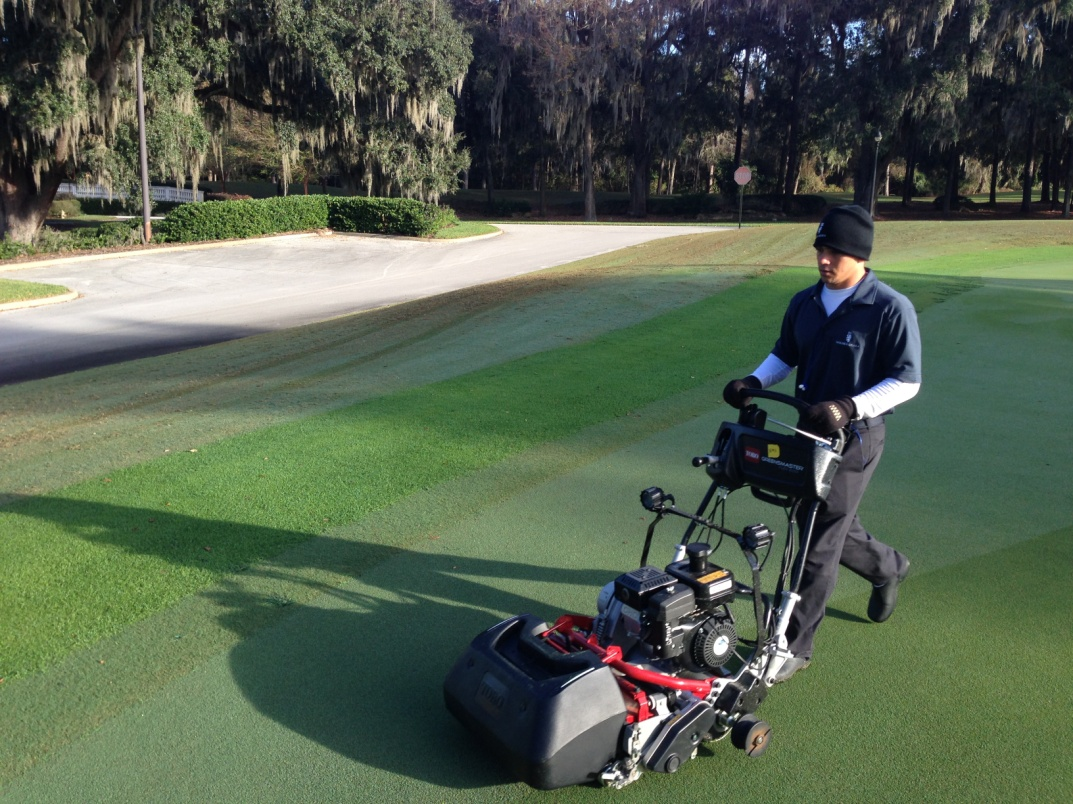 New Greens Mowers Enhance Golf Course Condition Course