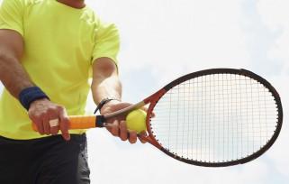 My lucky racquet