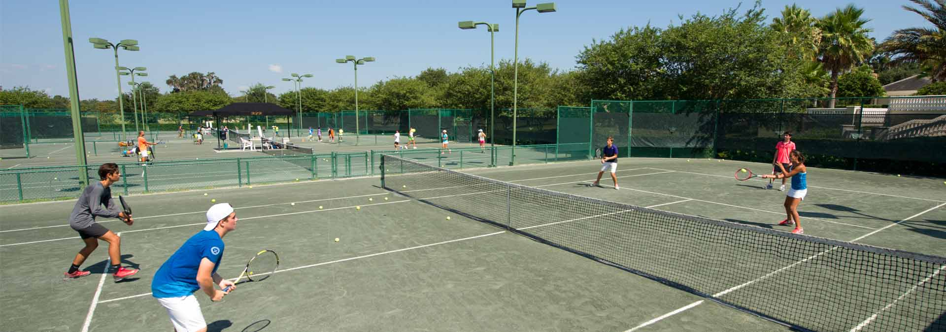 Junior Tennis Camp Moving Along Very Well