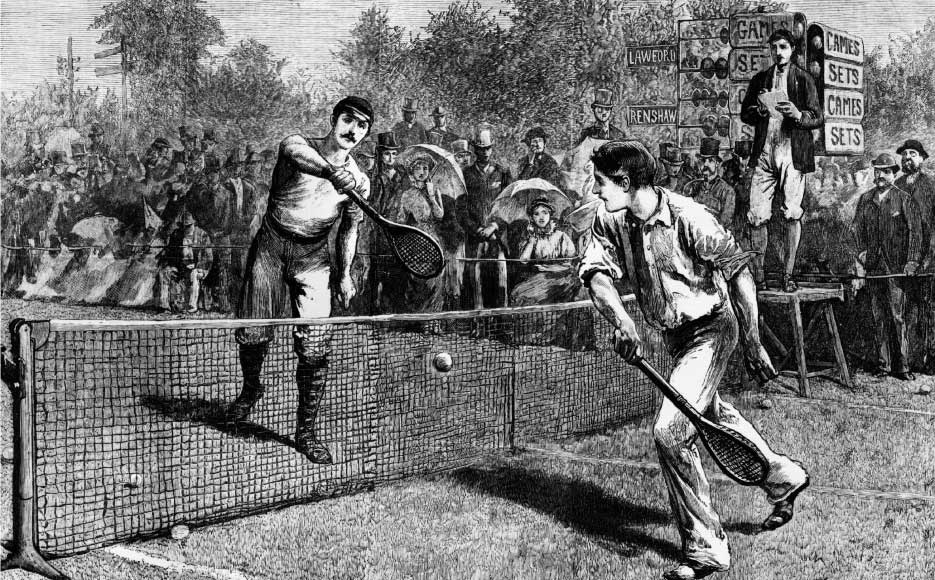 history and rules of tennis How to get into tennis - a sport on the up in the uk find your nearest court and learn the basics with our guide.
