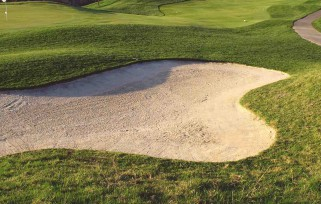 Above-Ground Drains Help Protect Golf Bunkers
