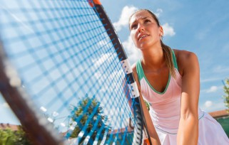 Follow the Three Rs After Scoring Points in a Tennis Game