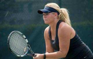 Playing tennis in Ocala