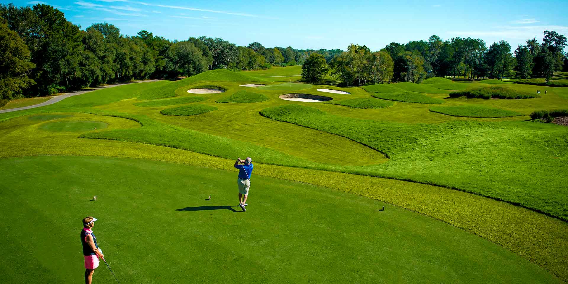 Golfing at Golden Ocala