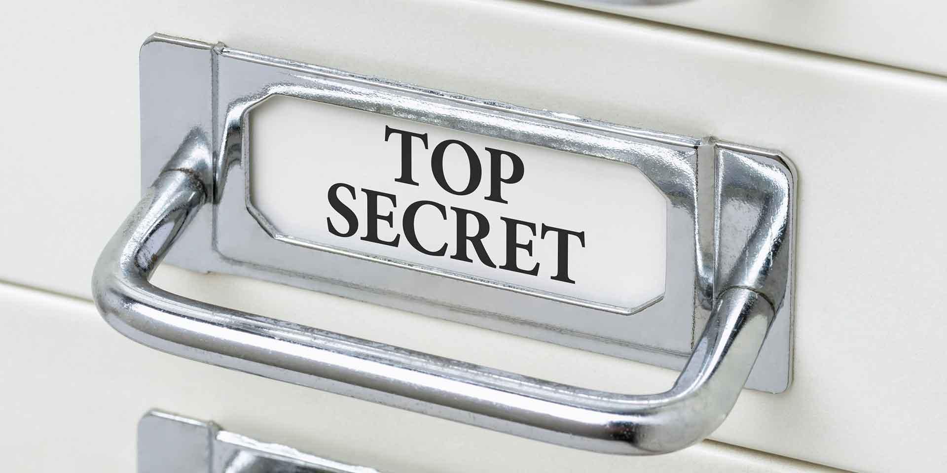 Top secret drawer