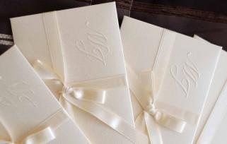 choosing wedding stationery