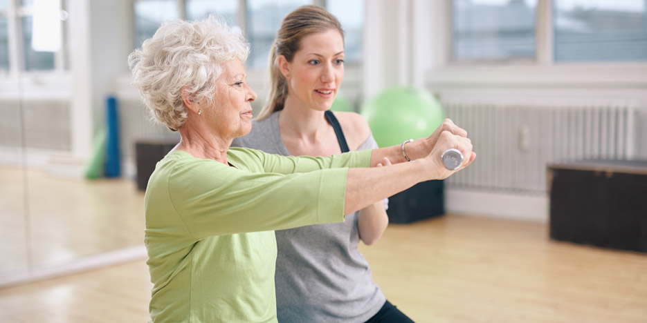 Regular exercise for older people