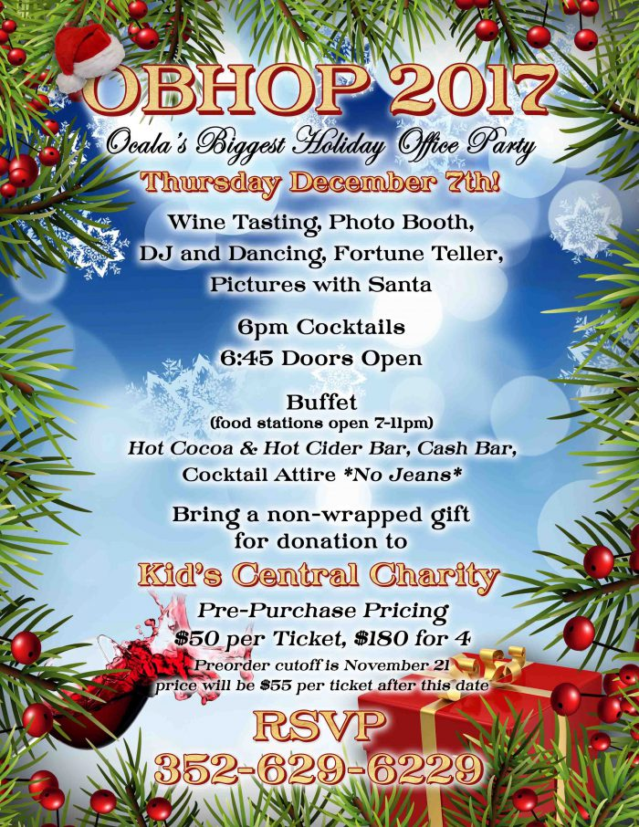 Ocala's Biggest Holiday Office Party